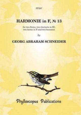 HARMONIE in F major No.13