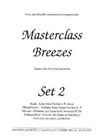 MASTERCLASS BREEZES Set 2 (score & parts)