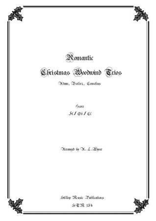 ROMANTIC CHRISTMAS WOODWIND TRIOS