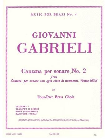 CANZONA PER SONARE No.2 (score & parts)