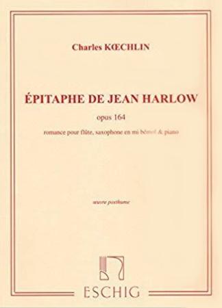 EPITAPHE DE JEAN HARLOW Romance Op.164