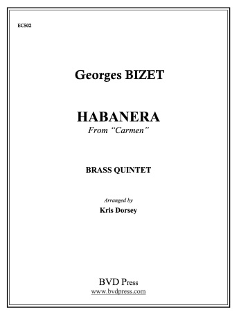 HABANERA from Carmen (score & parts)