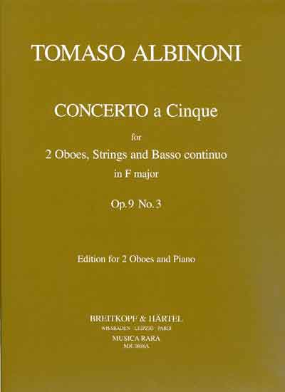 CONCERTO a 5 in F major, Op.9 No.3