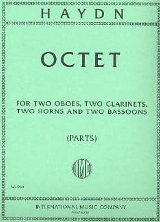OCTET in F major Hob II:F7 (set of parts)