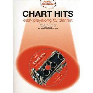 JUNIOR GUEST SPOT: Chart Hits Playalong + CD