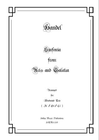 SINFONIA from 'Acis & Galatea'