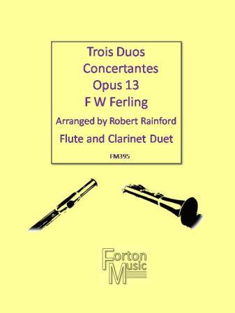 TROIS DUOS CONCERTANTES Op.13