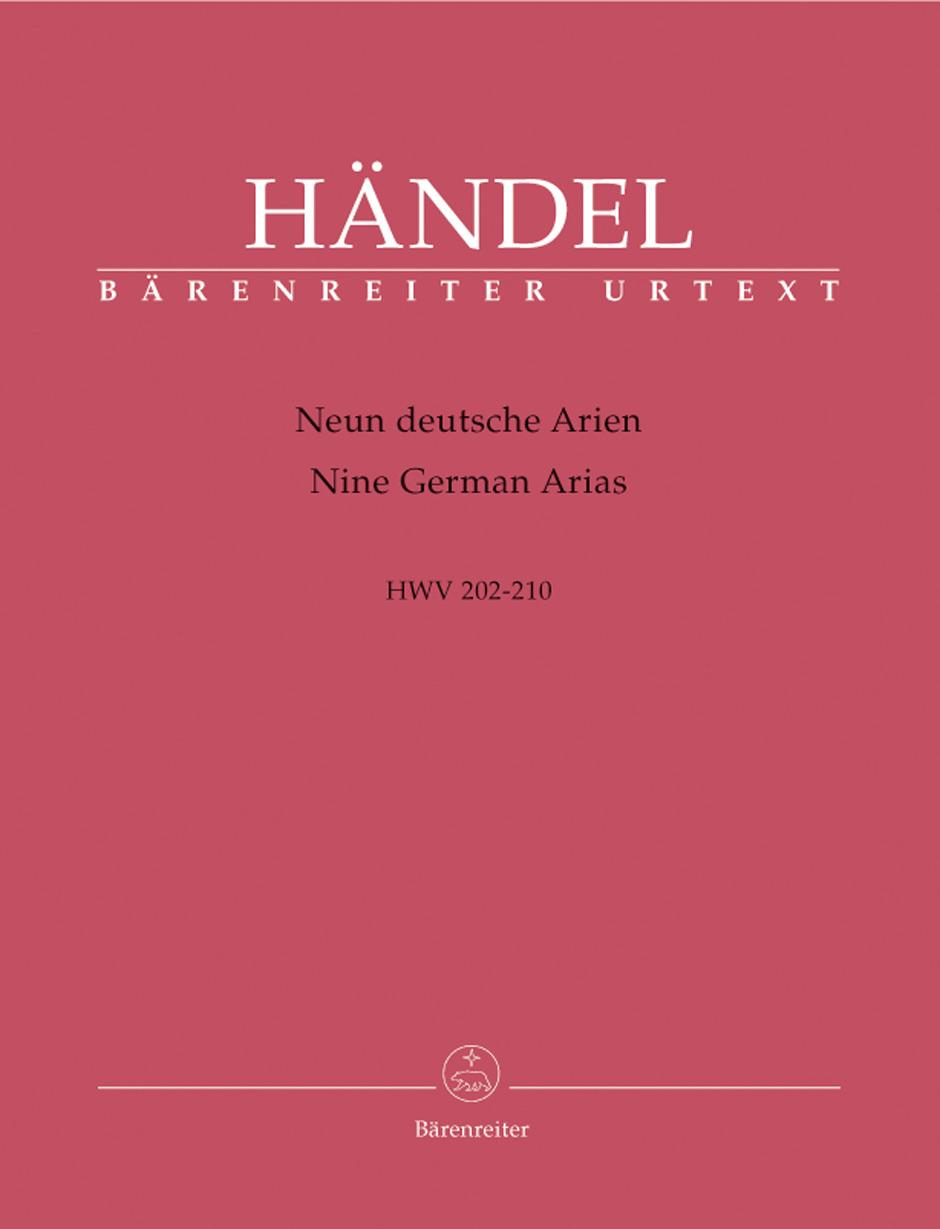 NINE GERMAN ARIAS HWV 202-210