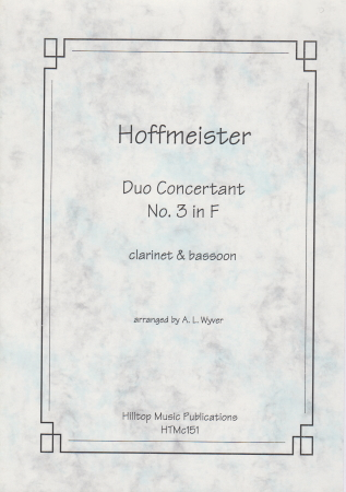 DUO CONCERTANT No.3 in F