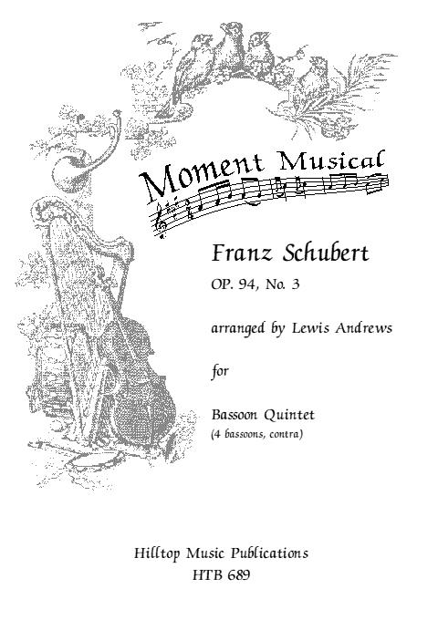 MOMENT MUSICAL Op.94 No.3 (score & parts)