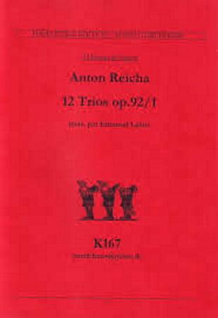 12 TRIOS Op.93 (score & parts)