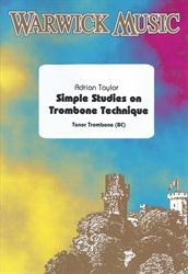 SIMPLE STUDIES ON TROMBONE TECHNIQUE (bass clef)