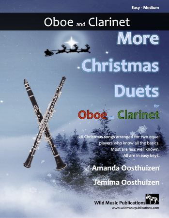 MORE CHRISTMAS DUETS for Oboe & Clarinet