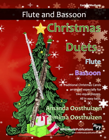 CHRISTMAS DUETS for Flute & Bassoon