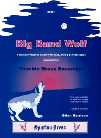 BIG BAND WOLF 5 nursery rhymes (brass)