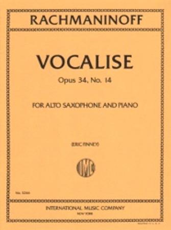 VOCALISE Op.34 No.14