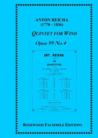 WIND QUINTET Op.99 No.4