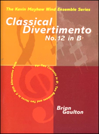 CLASSICAL DIVERTIMENTO No.12 in Bb major score & parts