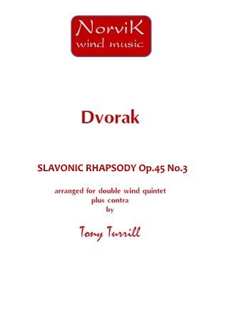 SLAVONIC RHAPSODY Op.45 No.3 (score & parts)