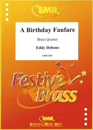 A BIRTHDAY FANFARE score & parts