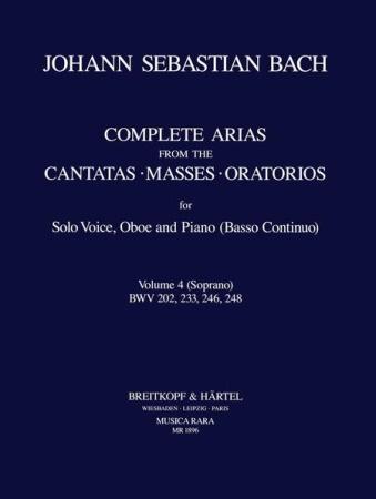 COMPLETE ARIAS & SINFONIAS Oboe Volume 4