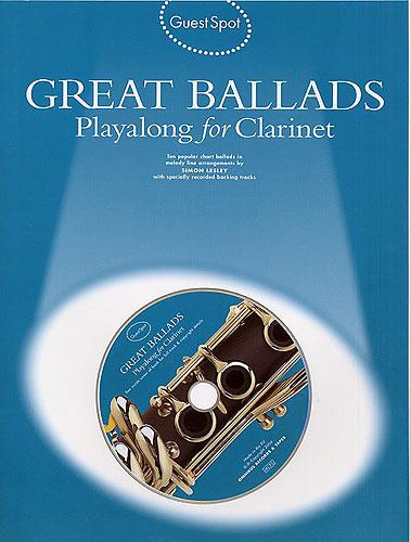 GUEST SPOT: Great Ballads playalong + CD