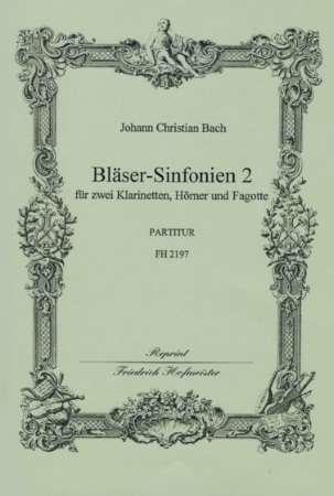 BLASER-SINFONIEN Volume 2 Nos.4-6 score