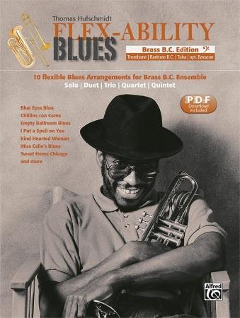 FLEX-ABILITY BLUES Brass Bass Clef Edition