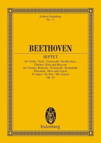 SEPTET in Eb major Op.20 (miniature score)
