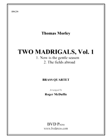 2 MADRIGALS Volume 1