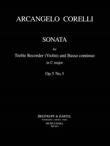 SONATA in C major Op.5 No.3