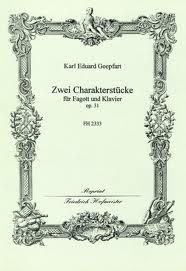 ZWEI CHARAKTERSTUCKE Op.31
