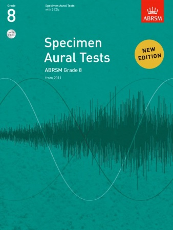 SPECIMEN AURAL TESTS Grade 8 + 2 CDs