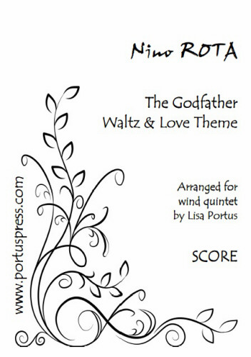 THE GODFATHER Waltz & Love Theme (score & parts)