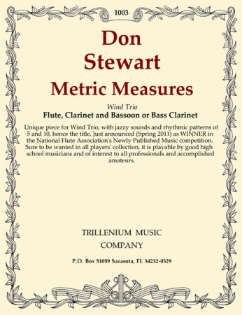 METRIC MEASURES score & parts