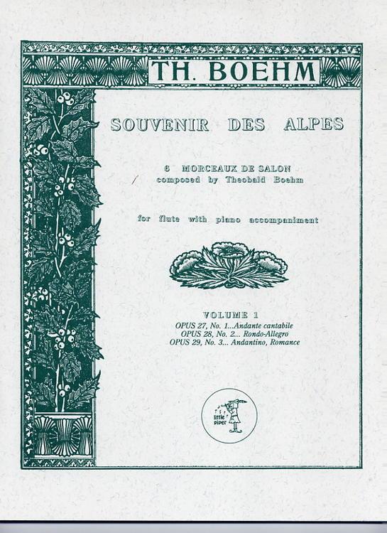 SOUVENIR DES ALPES Volume 1