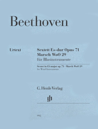 SEXTET in Eb major Op.71 & MARCH WoO29 (set of parts)