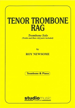 TENOR TROMBONE RAG (treble/bass clef)