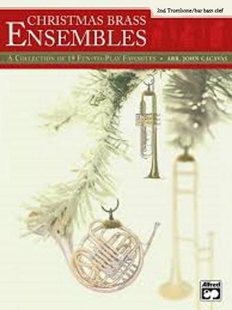 CHRISTMAS BRASS ENSEMBLES trombone 2/baritone (bass clef)