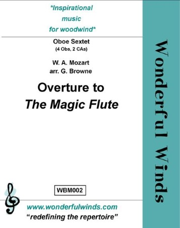 THE MAGIC FLUTE Overture (score & parts)