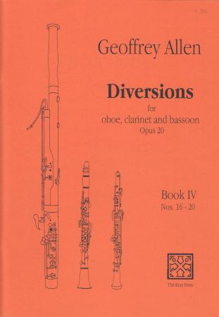 DIVERSIONS Op.20 Book 4 Nos.16-20