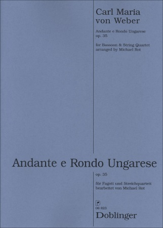 ANDANTE AND HUNGARIAN RONDO (score & parts)