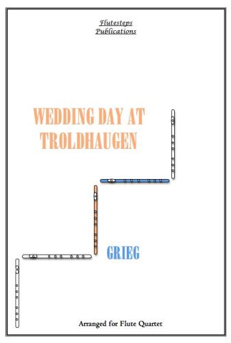 WEDDING DAY AT TROLDHAUGEN (score & parts)