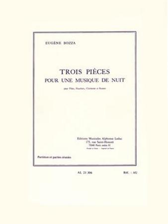 TROIS PIECES pour une Musique de Nuit (score & parts)