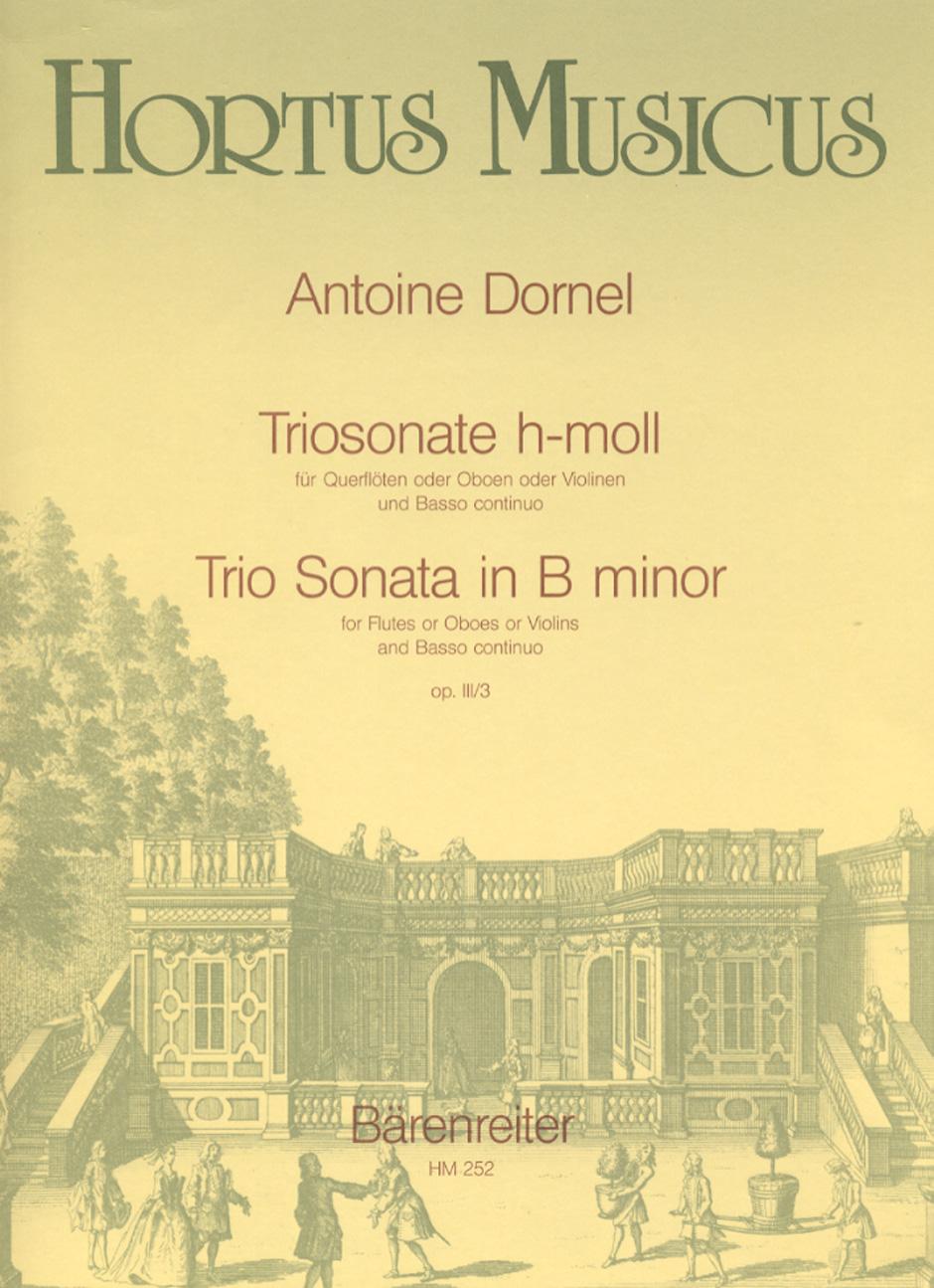 TRIO SONATA b minor