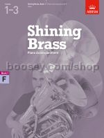 SHINING BRASS Book 1 Piano Accompaniment for F Horn