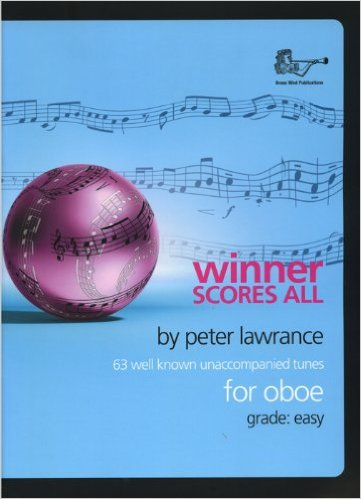 WINNER SCORES ALL + CD Oboe Part