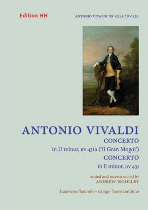 CONCERTO in D minor RV431a & CONCERTO in E minor RV431