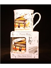 FINE CHINA MUG Piano Design