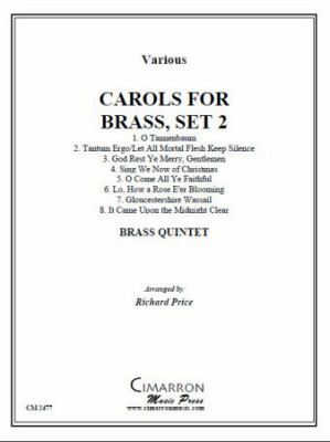 CAROLS FOR BRASS Set 2 (score & parts)